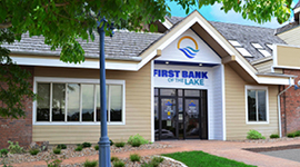 First Bank of the Lake exterior photo