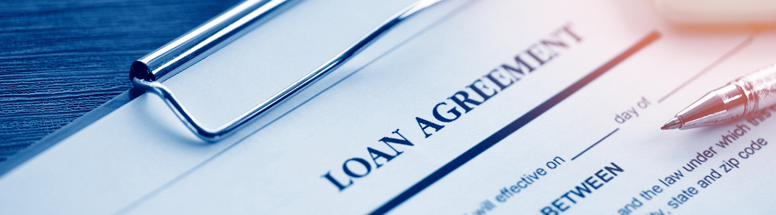 Loan agreement papers